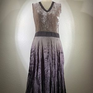 Viviana Uchitel Mixed Media Moon Dress Size 1 NWT
